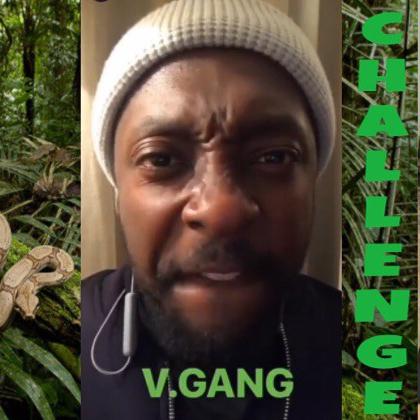 WILL.I.AM goes V-GANG #JungleJuiceCHALLENGE |[Superfoods]